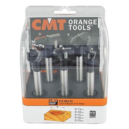 CMT Orange Tools 512.001.01 - Estuche 5 brocas s 10x65 l 90 ...