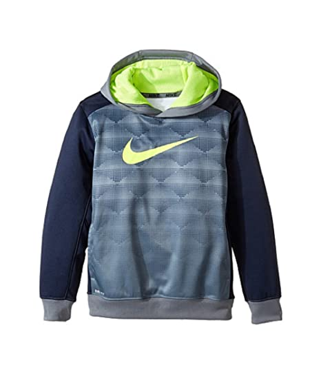 7e63bb4df915 Amazon.com  Nike Boys Therma-Fit Hoodie -Cool Grey -SIZE 6  Sports ...