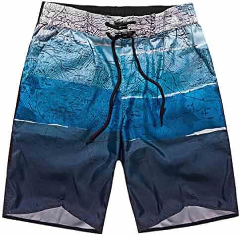 72ece0e7c6 Men's Swim Trunks,Men's Trunks New Summer Quick Dry Beach Surf Board Short  Swim Shorts