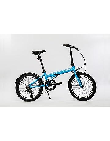 c9b2b163cdb EuroMini ZiZZO Via 27lb Folding Bike-Lightweight Aluminum Frame Genuine  Shimano 7-Speed 20