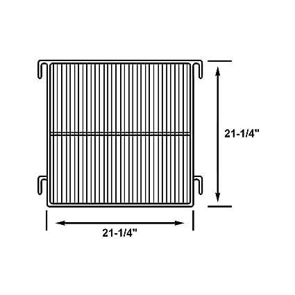 amazon com perlick c8484 1 refrigerator wire shelf with grey epoxy rh amazon com