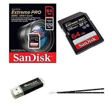 SanDisk - Tarjeta de memoria Extreme Pro de 64 GB para ...