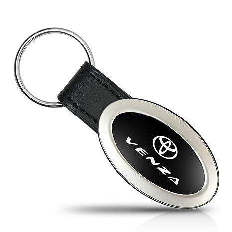 Toyota Venza Oval estilo Metal clave cadena llavero: Amazon ...