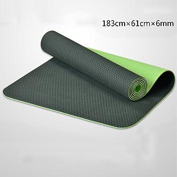 TPE Yoga Mat/Ampliación Thickening Yoga Mat/Long ...