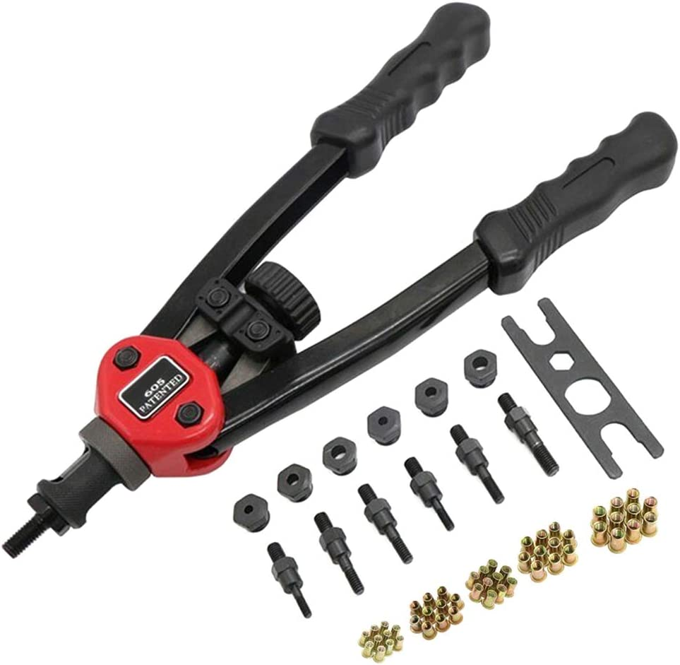 Easy Riveting Tool Nuts Riveter Blind Set BT-605 BT-606 BT-607 Hand Tools
