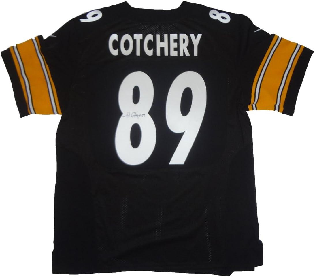Amazon.com: Jerricho Cotchery Autographed Pittsburgh Steelers ...