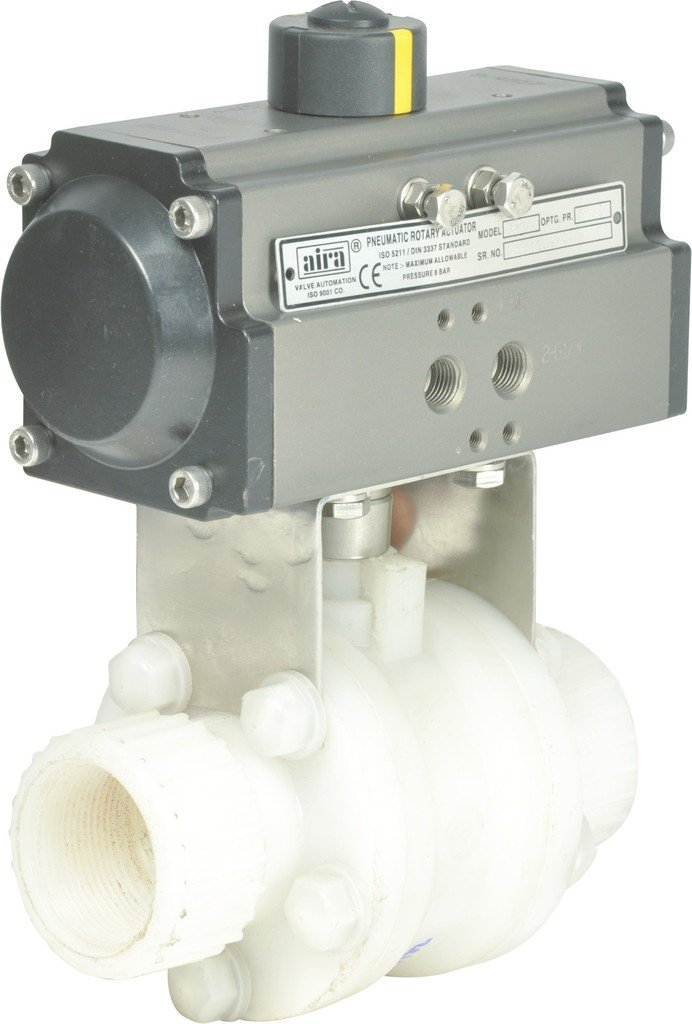 Product manufactory pneumatic actuators and pneumatic automation