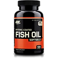 Optimum Nutrition (ON) Fish Oil Omega-3 Fatty Acids - 100 Softgels