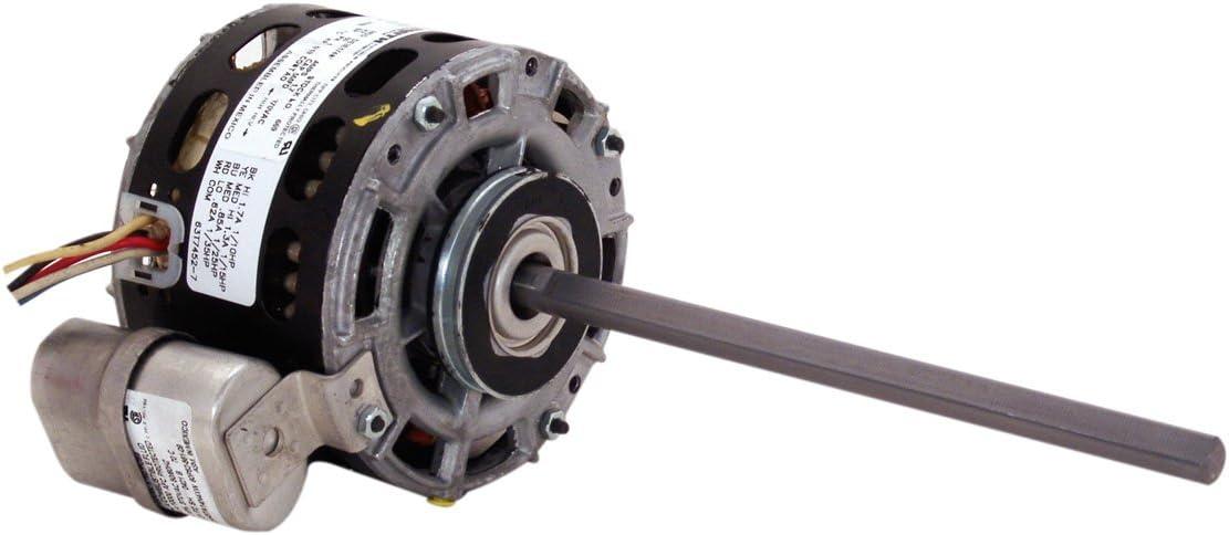 AO Smith 6695.0-Inch Frame Diameter 1/10 HP 1075 RPM 115-Volt 1.7-Amp Sleeve Bearing Blower Motor