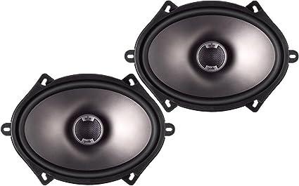 Polk Audio DB571 5-By-7-Inch Coaxial Speakers (Pair, Black