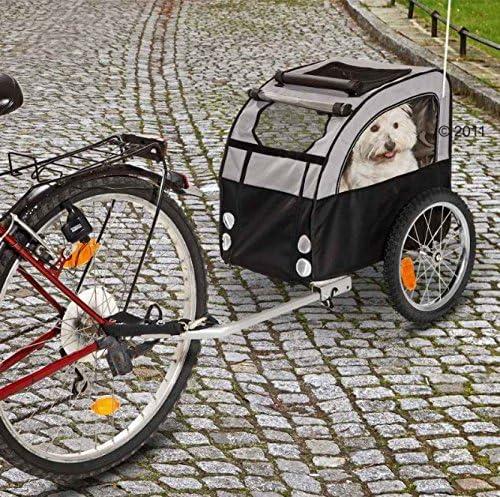Ligero y duradero – Remolque para bicicleta de perro con ...