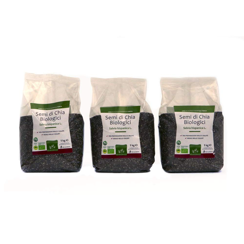 Semillas de Chia Organica - Envasado en atmósfera protectora ...