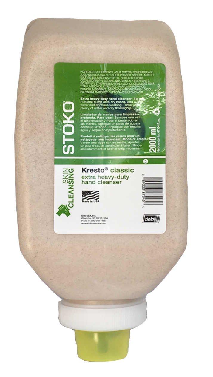 Stockhausen Kresto Select, Kresto Classic Hand Cleanser, 2000ml Soft Bottle - pn98704506 by Deb Stoko
