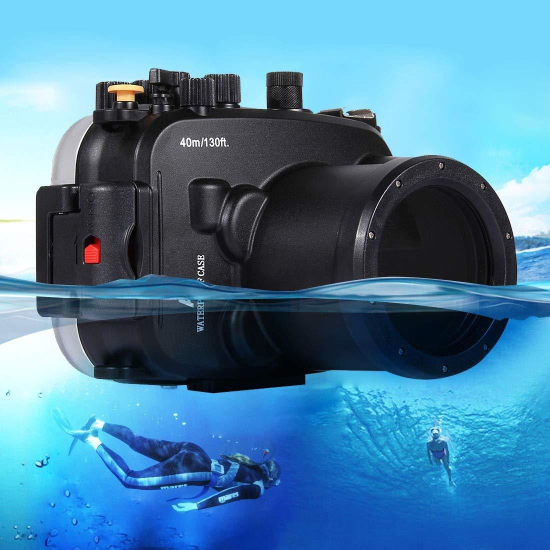SONGSHI Carcasa Impermeable para cámara de 40 m, Sumergible en ...