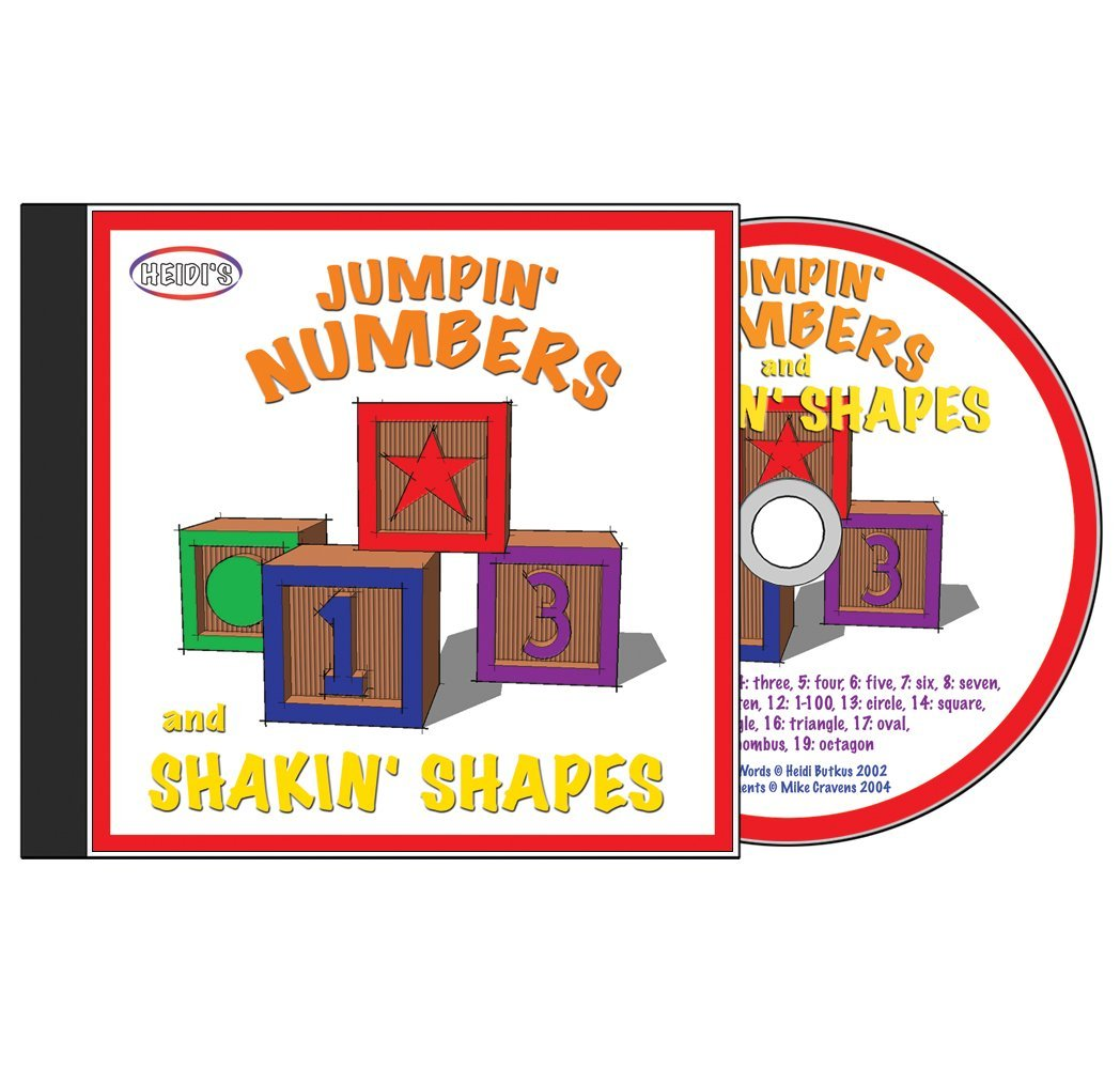Jumpin' Numbers and Shakin' Shapes - Volume 1 CD