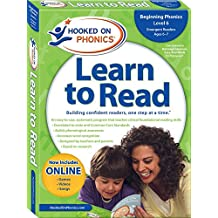 Hooked on Phonics Learn to Read - Level 6: Beginning Phonics (Emergent Readers | First Grade | Ages 6-7)