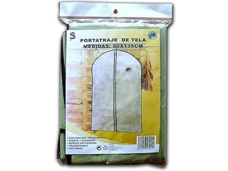 SUMIN.RAYO Funda Porta Traje Tela 60x135cm: Amazon.es: Hogar