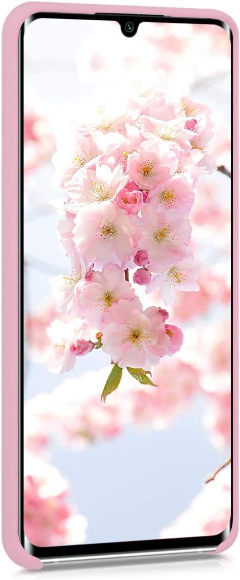kwmobile Funda Compatible con Xiaomi Mi Note 10 Lite Cover Trasero en Amarillo Mate Carcasa de TPU para m/óvil
