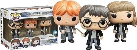 Funko - Figurine Harry Potter - Pack Hermione, Harry et Ron Pop ...