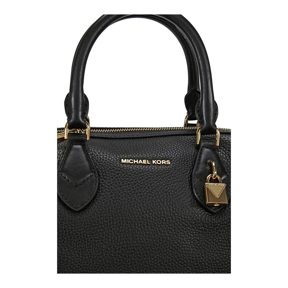 66c37ae5ffae Michael Michael Kors Grayson Large Convertible Satchel Women Black   Amazon.ca  Shoes   Handbags