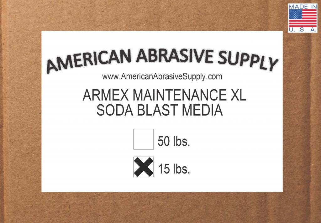 Armex Maintenance XL Soda Blast Media (15 lbs.)