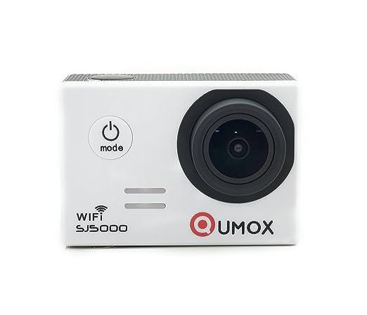 2 opinioni per QUMOX SJ5000 wifi, Azione fotocamera Sport, bianco, macchina fotografica