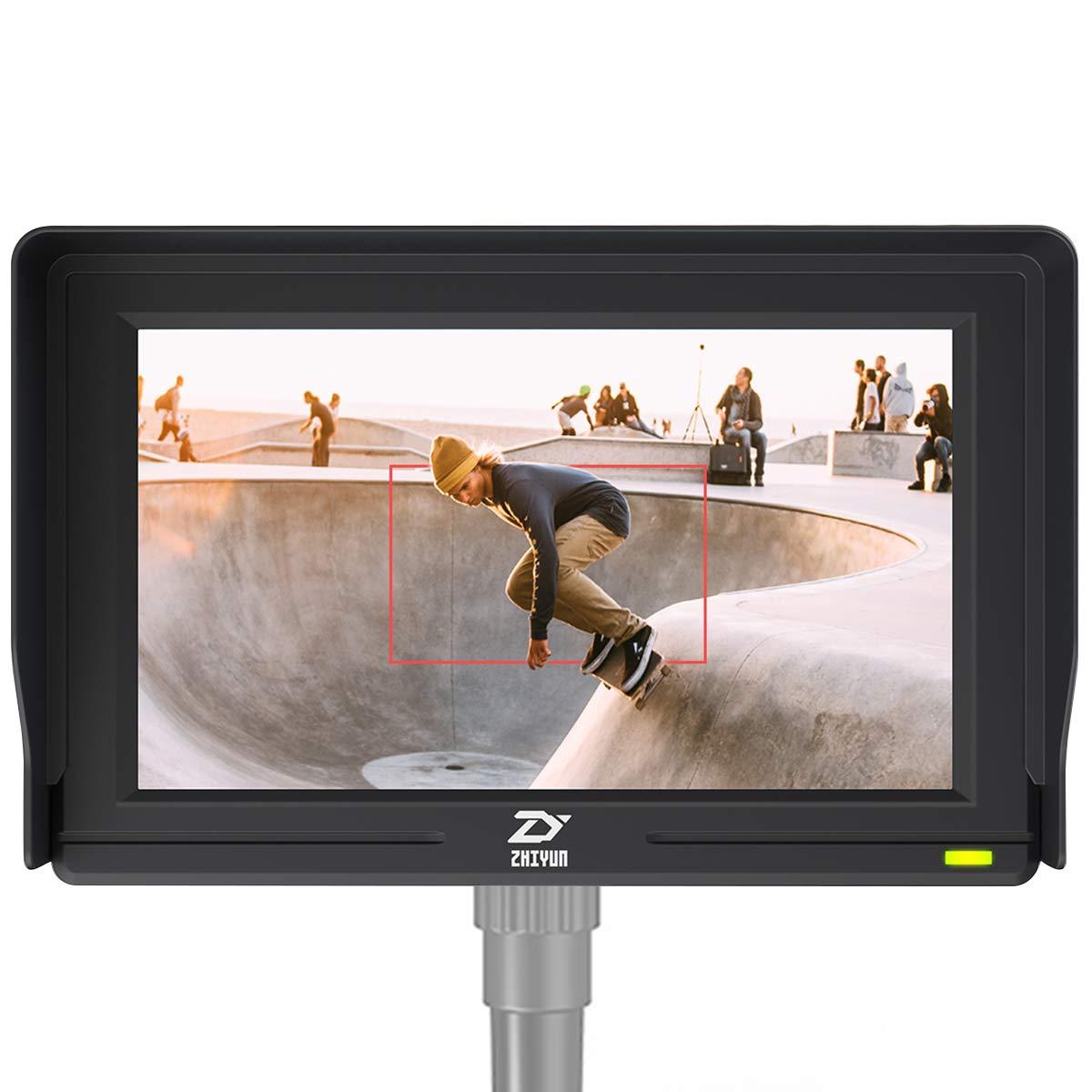 Zhiyun [Official] Transmount 5.5'' HD LCD Display Monitor 19201080 IPS Rear View Monitor Screen by zhi yun