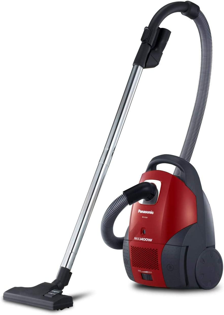 Vacuum Cleaner by Panasonic, Strongly 1400W, Red
