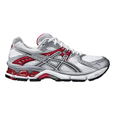 ASICS Gel 3010 Womens Gray Wide Fabric Running Shoes Size UK