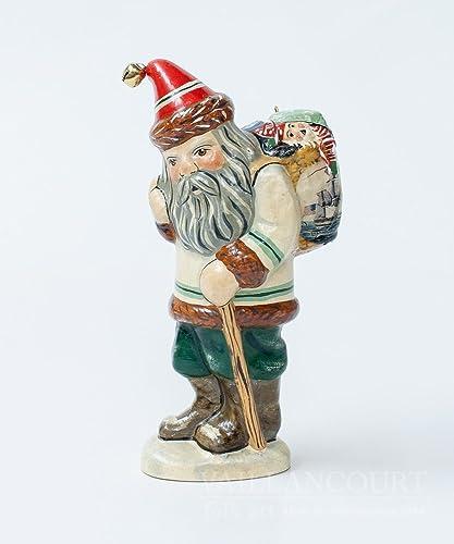 Vaillancourt Folk Art The Original Nantucket Basket Santa