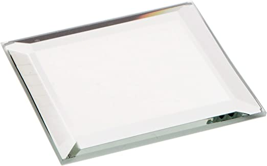 Amazon Com Plymor Square 3mm Beveled Glass Mirror 2 Inch X 2 Inch Pack Of 24 Home Kitchen