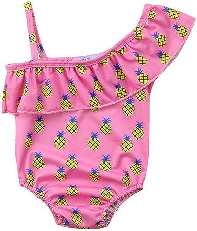 Toddler Spring or Summer Girl/'s Boutique Tropical Watermelon /& Flamingo Bikini Bathing Suit Boutique Swim 12 18 Months 2T 3T 4T 5 6 7 8