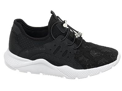 di prim'ordine elegante nello stile stile alla moda Sweet Years Scarpe Donna Sneakers in Tela nera S18-SSW247 ...