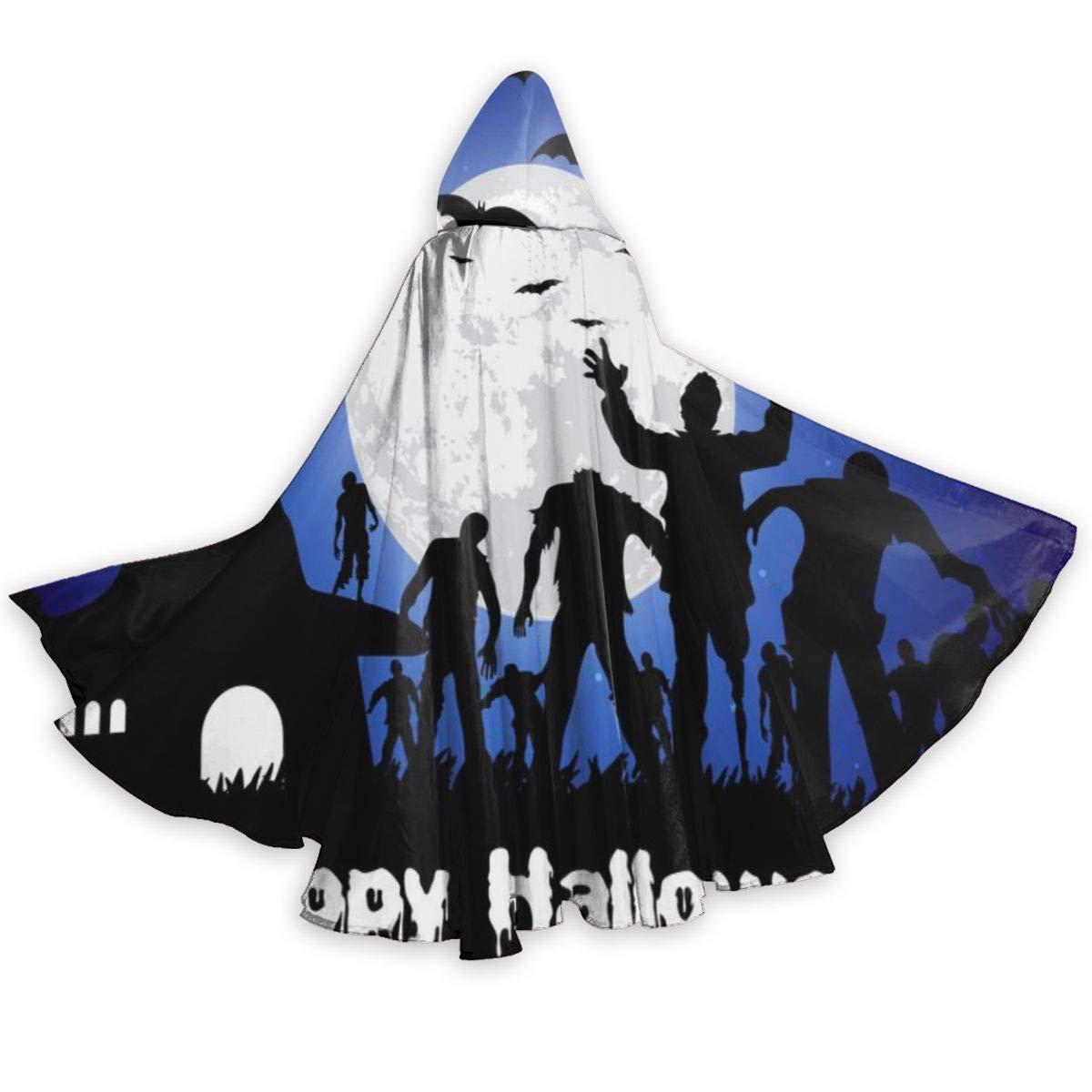 Funny Z Feliz Halloween Vector Adulto con Capa Vacaciones ...