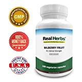 Real Herbs Bilberry Extract - Derived from