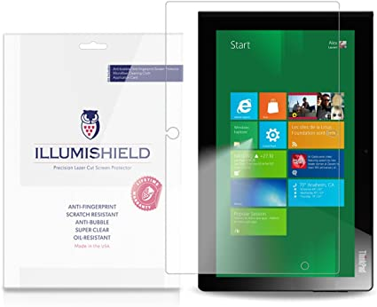"iLLumiShield Anti-Bubble//Print Screen Protector 2x for Lenovo IdeaPad Yoga 13/"""