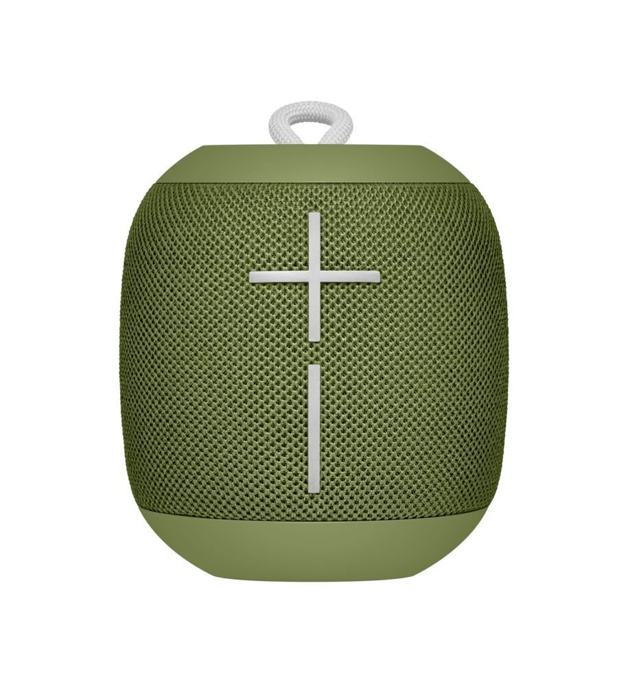 Ultimate Ears WONDERBOOM -  Altavoz Bluetooth impermeable con conexión, Verde (Avocado)