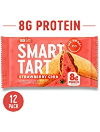 Smart Tart Protein Toaster Pastries | 8g Protein Breakfast Snack | Low Net Carb Low Sugar Baked Pastry | All Natural No...