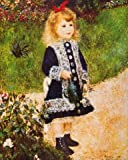 Gift Set: 1 Poster Art Print (20x16 inches) + 1 Mouse Pad (9x7 inches) - Pierre Auguste Renoir, Girl With A Watering Can, 1876