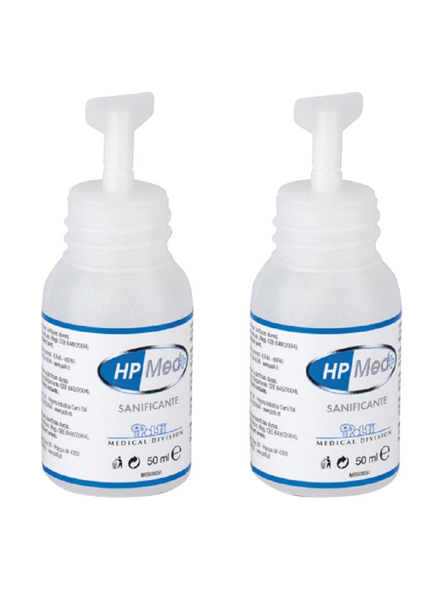 Polti paeu0243 –  HpMed Cleaner for Steam Disinfector, 2 Bottles 2Bottles