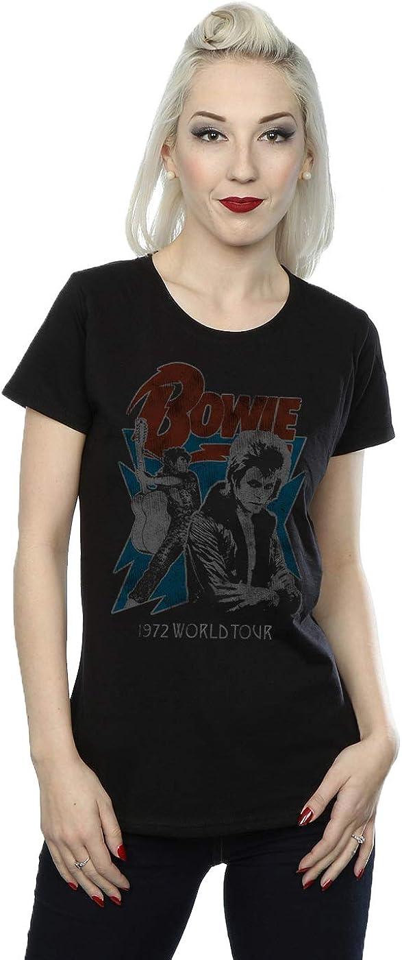 David Bowie mujer Tour 72 Camiseta