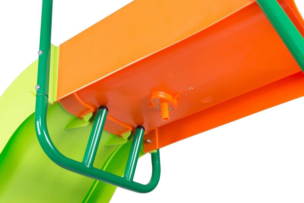 SLIDEWHIZZER Outdoor Play Set Kids Slide: 10 ft Freestanding Climber, Swingsets, Playground Jungle Gyms Kids Love - Above Ground Pool Slide for Summer Backyard by SLIDEWHIZZER (Image #3)