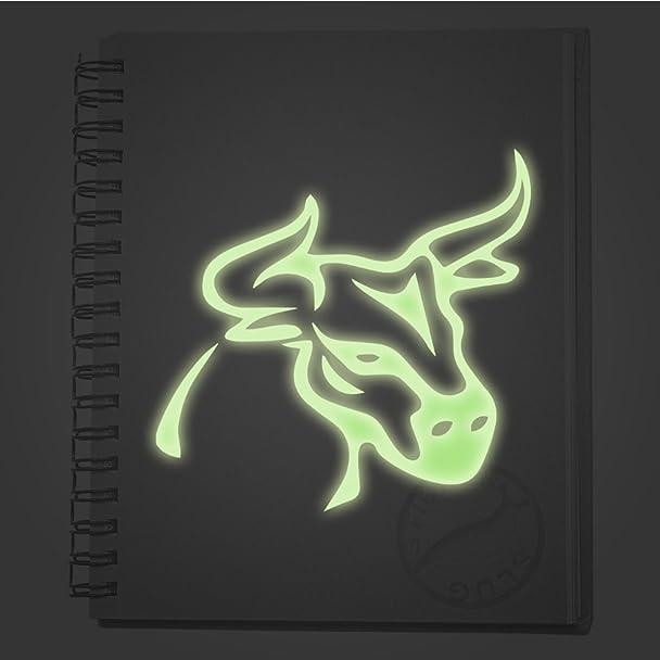 Amazon Brahma Bull Decal Sticker Glow In The Dark 8 Inch