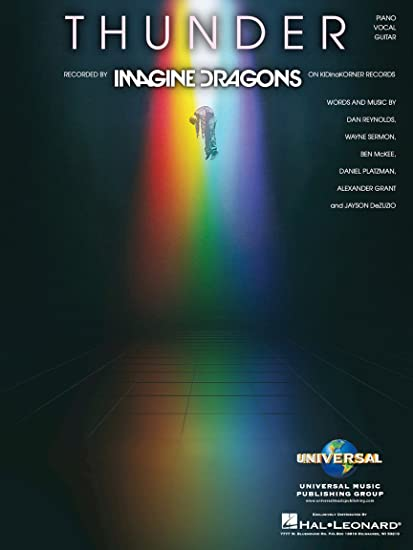 Amazon Imagine Dragons Thunder Pianovocalguitar Sheet