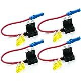 4 x Ajouter un Circuit Fusible Robinet Standard Blade Fusible Titulaire ATO ATC 12v 24v