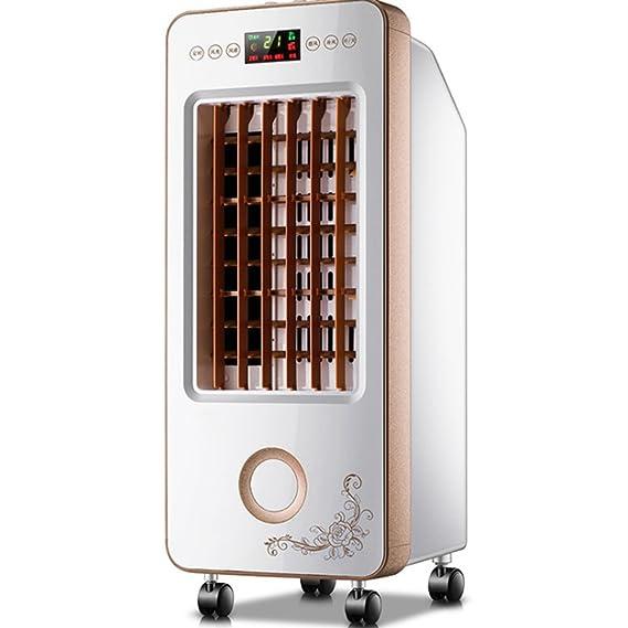 QFFL Ventilador de deshumidificador Ventilador de aire acondicionado pequeño móvil 26 * 65cm Enfriamiento y calefacción: Amazon.es: Hogar