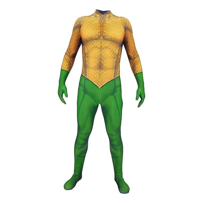 Amazon.com: AMOCO - Disfraz de lycra y spandex para hombre ...