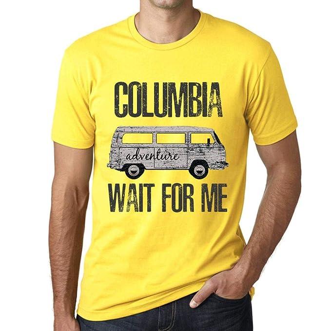 7e39f64cdb6 Amazon.com: Men's Vintage Tee Shirt Graphic T Shirt Columbia Wait ...