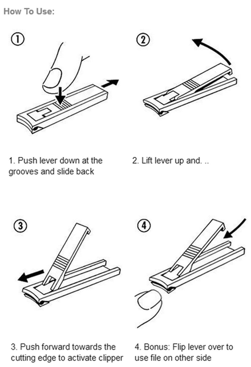 Adecco LLC Ultra-Slim Nail Clipper by Adecco LLC (Image #6)