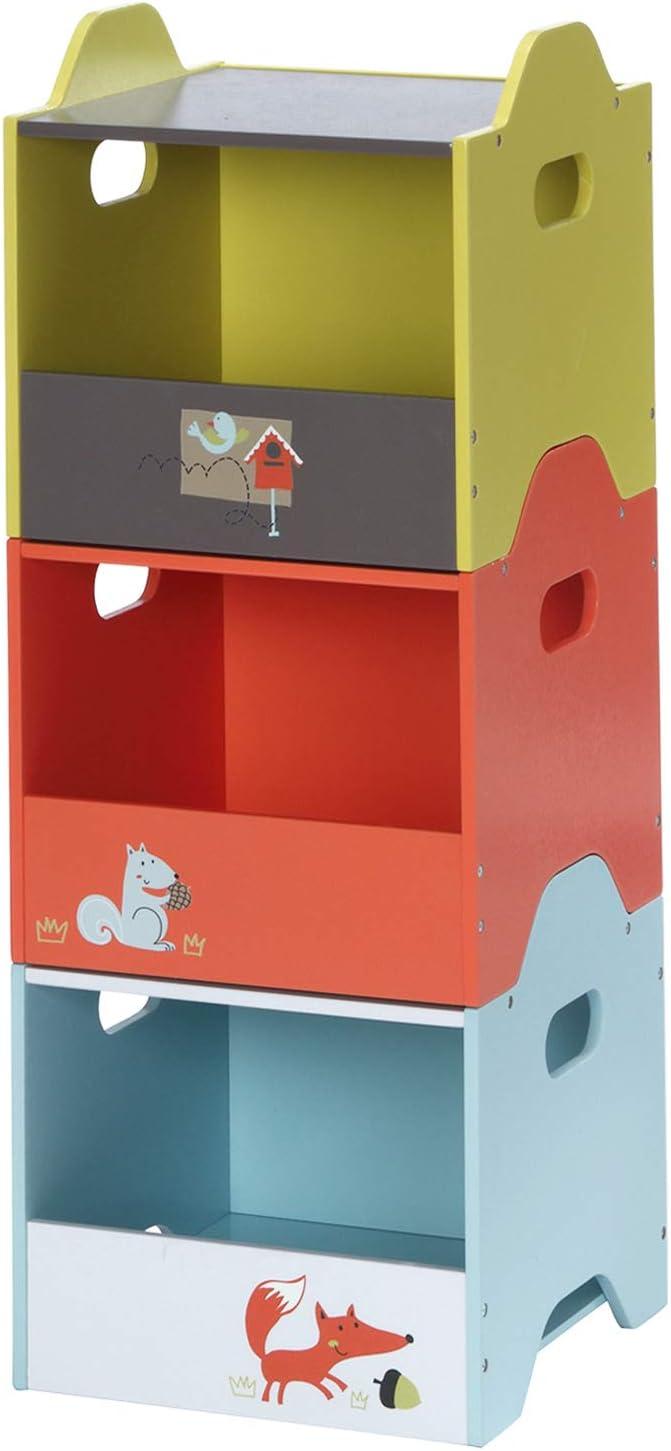 labebe - Toy Storage, Kid Storage Cabinet, Baby Toy Box, Child Bin Cabinet, Wooden Storage Box, Toy Chest for Boy&Girl, Toy Storage Bin, Kid Toy Storage Container, Large Toy Storage Unit - Open Door